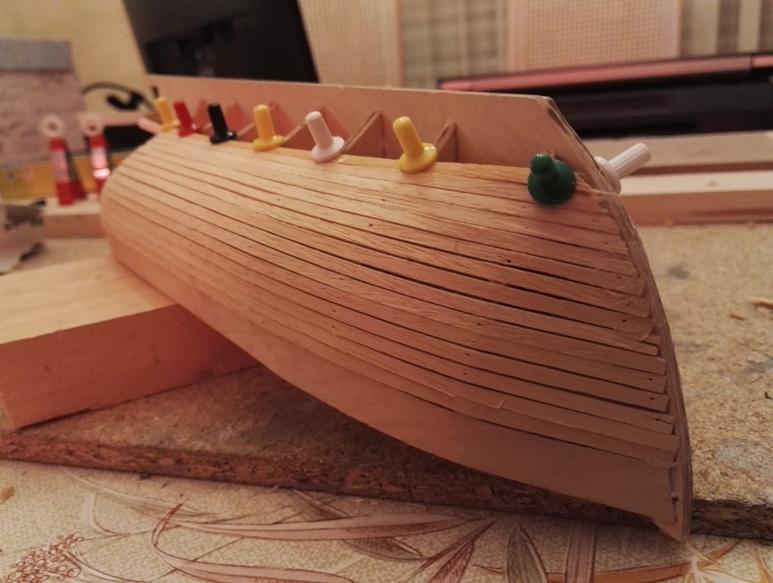 """Caboteur """"Le Norden"""" 1/30 de Billing Boats 18-01-29"""