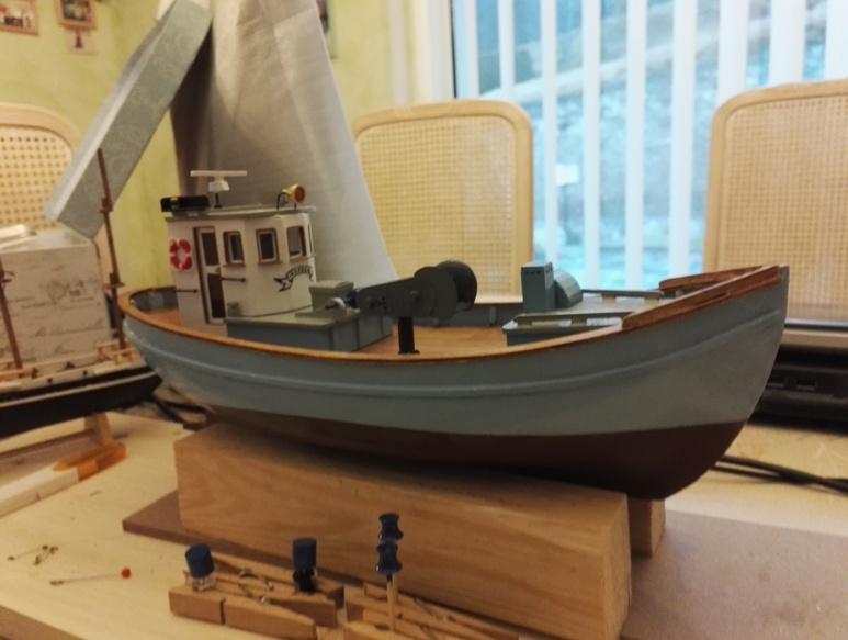 """Caboteur """"Le Norden"""" 1/30 de Billing Boats - Page 3 18-01-61"""