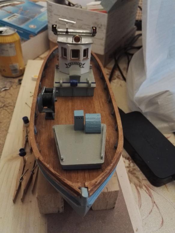 """Caboteur """"Le Norden"""" 1/30 de Billing Boats - Page 3 18-01-62"""