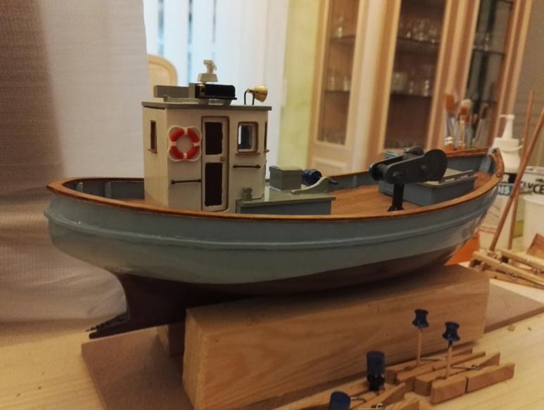 """Caboteur """"Le Norden"""" 1/30 de Billing Boats - Page 3 18-01-63"""