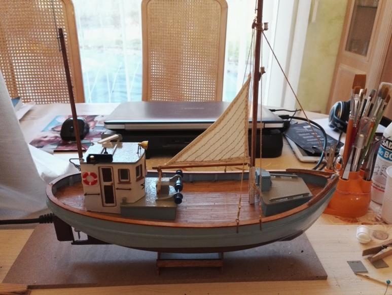 """Caboteur """"Le Norden"""" 1/30 de Billing Boats - Page 3 19-02-16"""