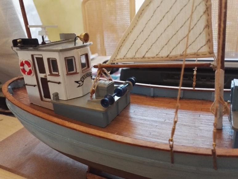 """Caboteur """"Le Norden"""" 1/30 de Billing Boats - Page 3 19-02-17"""