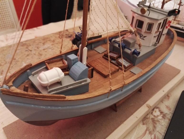 """Caboteur """"Le Norden"""" 1/30 de Billing Boats - Page 4 19-02-22"""