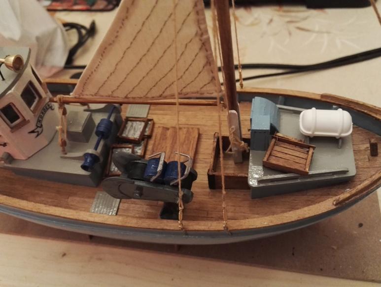 """Caboteur """"Le Norden"""" 1/30 de Billing Boats - Page 4 19-02-23"""