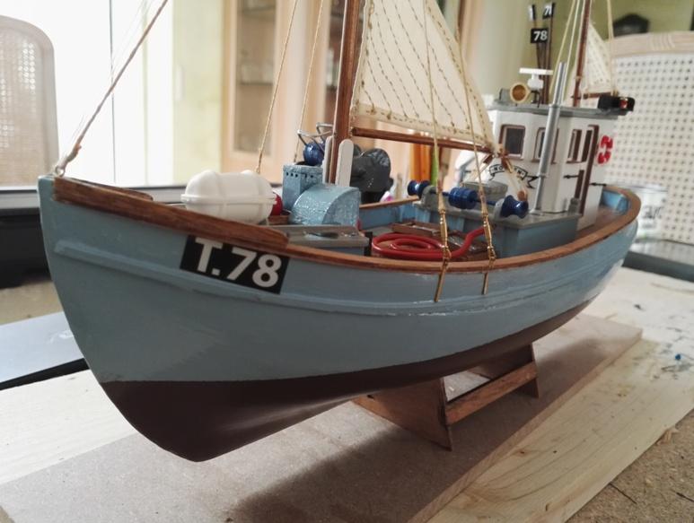 """Caboteur """"Le Norden"""" 1/30 de Billing Boats - Page 4 19-02-25"""