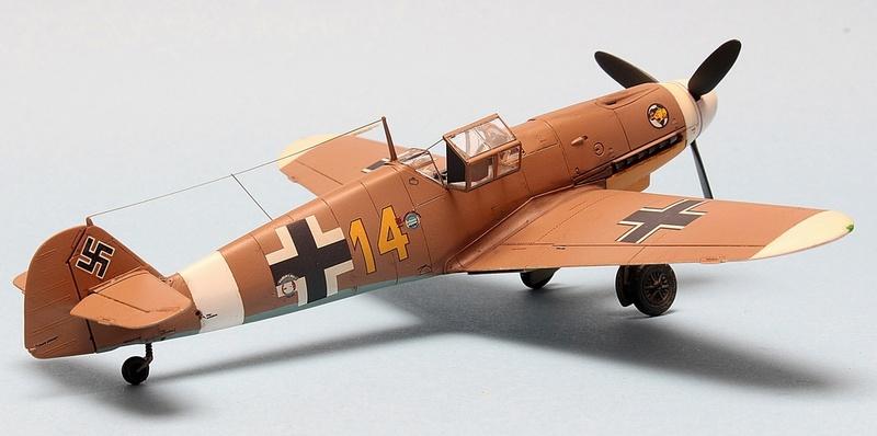 Bf-109 F-4/Trop H.J. Marsellie - FM 1/72 Img_6831