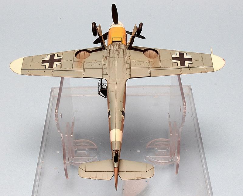 Bf-109 F-4/Trop H.J. Marsellie - FM 1/72 Img_6833