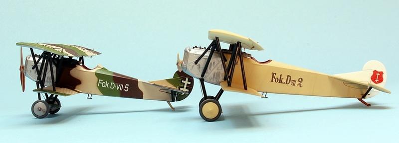 Fokker D.VII - Lithuania 1928-30 - Revell 1/72 Img_6843