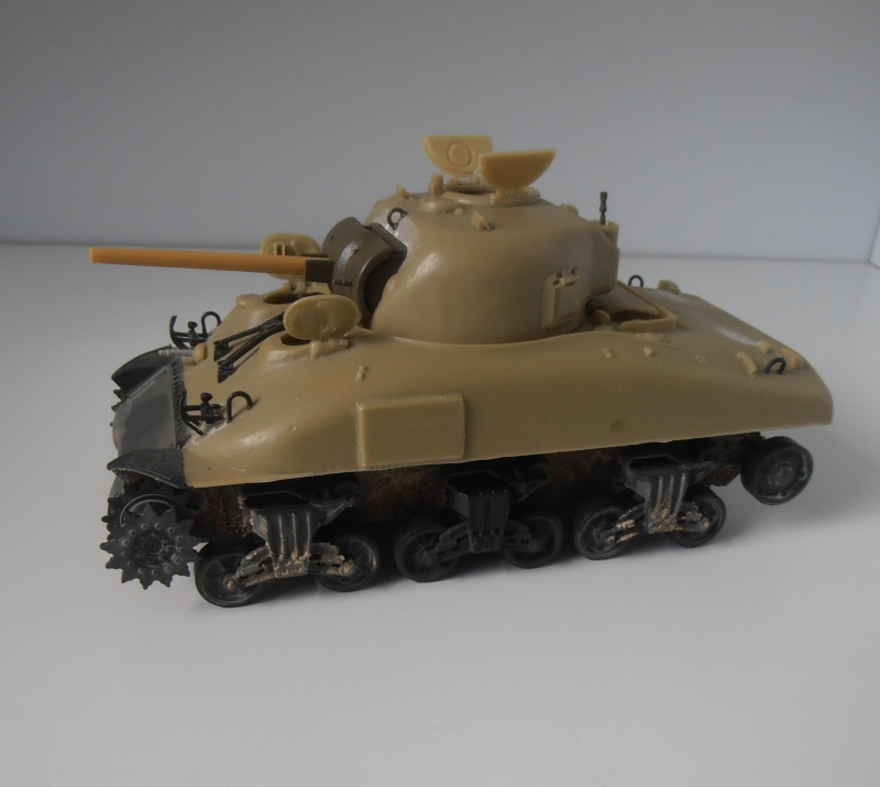 Sherman M4a2 et sherman M4a1 ( verlinden, tamiya, italeri au 1/35eme ) P6171016