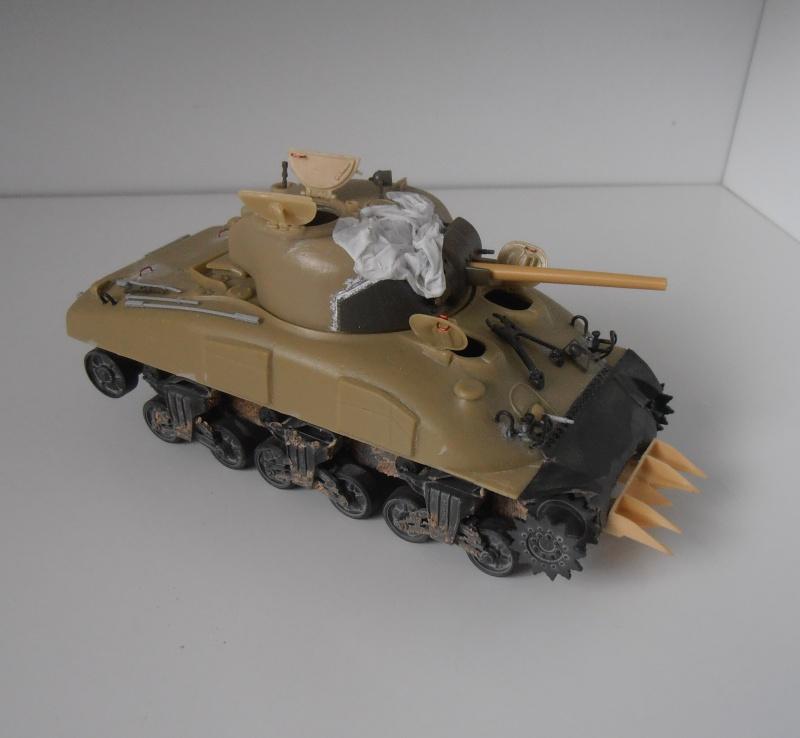 Sherman M4a2 et sherman M4a1 ( verlinden, tamiya, italeri au 1/35eme ) P6191013