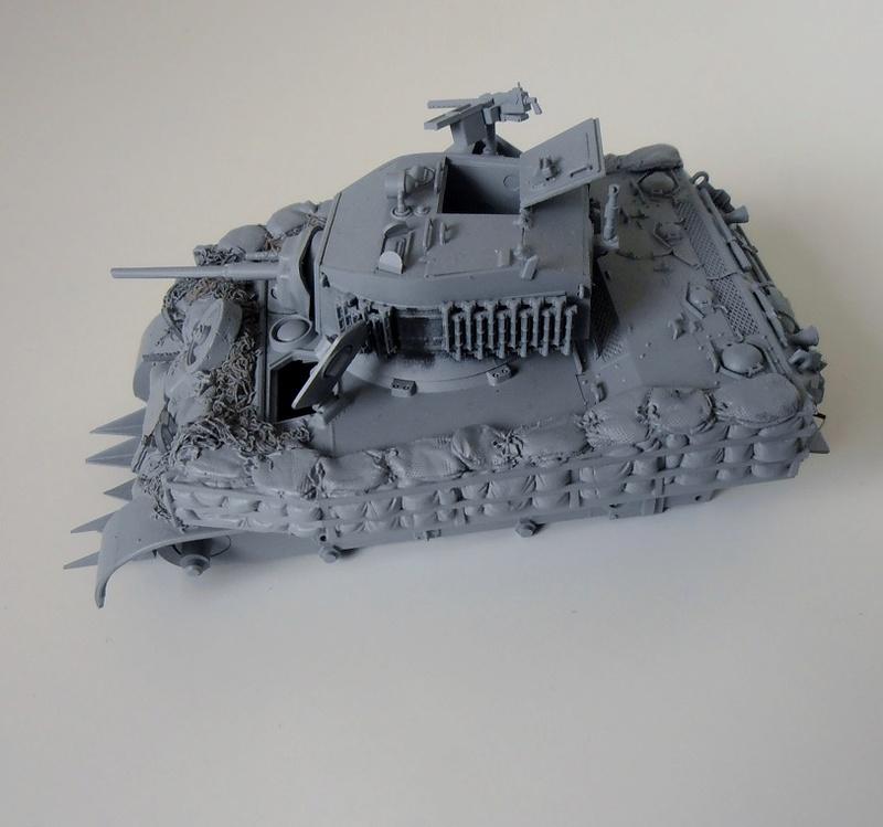 """La guerre des haies Normandie 1944 ( Tamiya, nemrod, blast model au 1/35eme ) """" montage avec ctreize """" P7301110"""