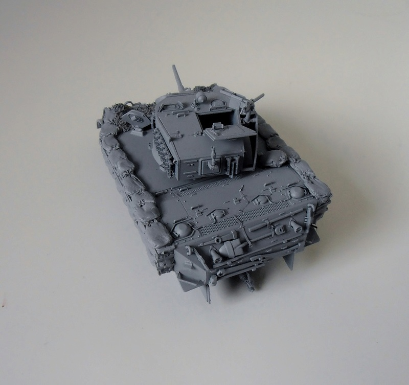 """La guerre des haies Normandie 1944 ( Tamiya, nemrod, blast model au 1/35eme ) """" montage avec ctreize """" P7301111"""