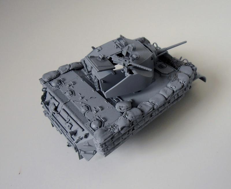 """La guerre des haies Normandie 1944 ( Tamiya, nemrod, blast model au 1/35eme ) """" montage avec ctreize """" P7301112"""
