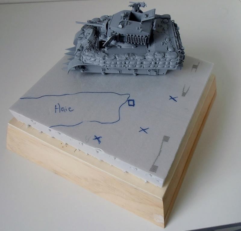 """La guerre des haies Normandie 1944 ( Tamiya, nemrod, blast model au 1/35eme ) """" montage avec ctreize """" P7301114"""