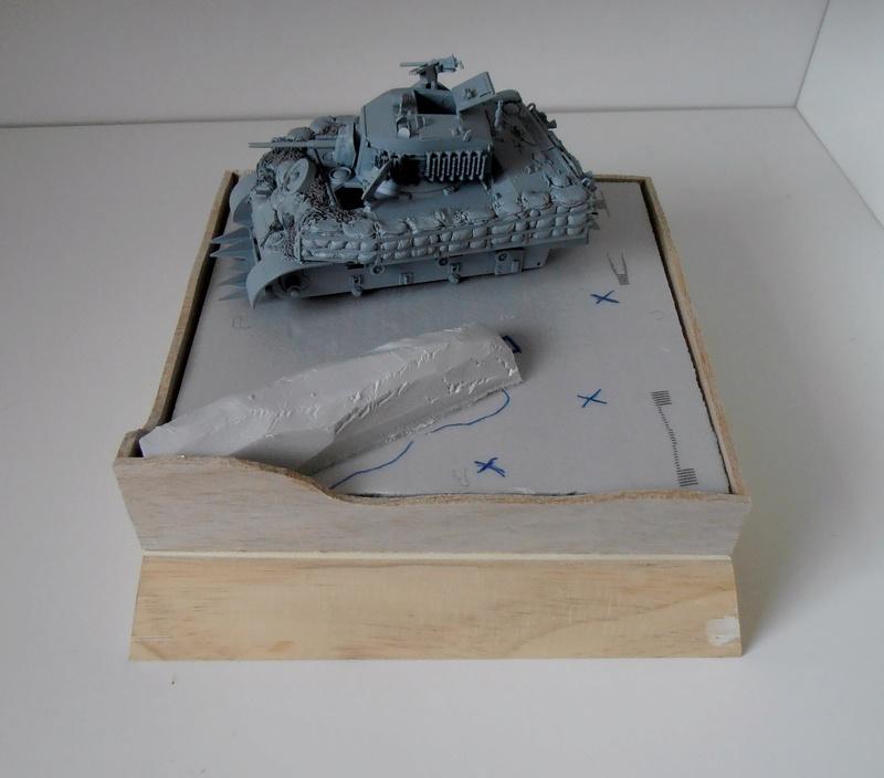"""La guerre des haies Normandie 1944 ( Tamiya, nemrod, blast model au 1/35eme ) """" montage avec ctreize """" P7301116"""