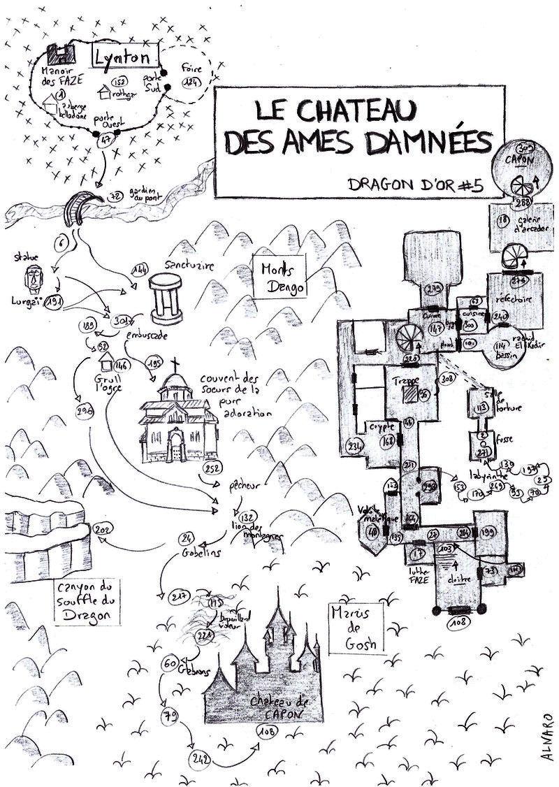 5 - Le Château des Âmes Damnées Alnaro10