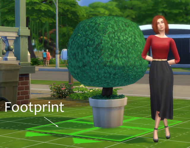 [Débutant] Supprimer le footprint d'un objet A10