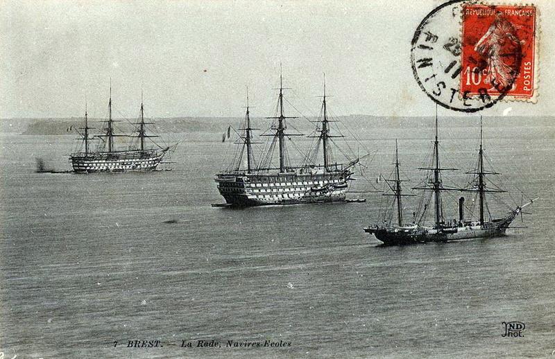 Les navires écoles français du XIX é à nos jours en photos  - Page 3 1887_b10