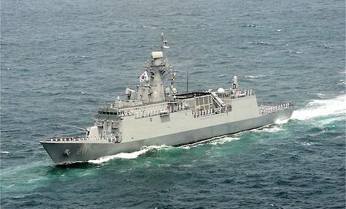 Fregates FFX et FFK Classe Oulsan Incheo11