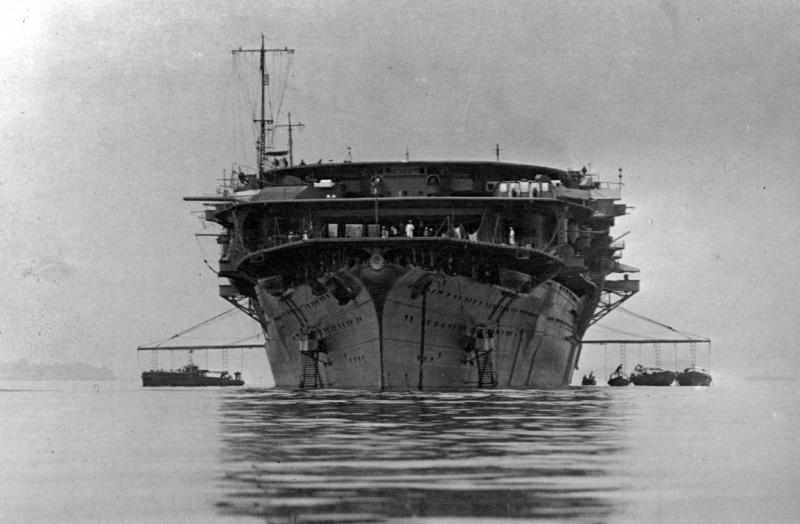 Porte-avions japonais - Page 2 Kaga1910