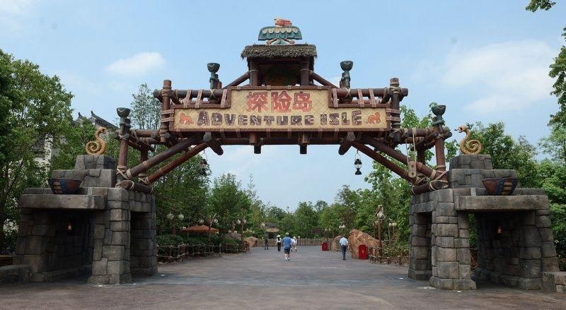 [Shanghai Disneyland] ADVENTURE ISLE (Soaring.../Roaring Rapids/Camp Discovery/Tarzan) - Page 2 110