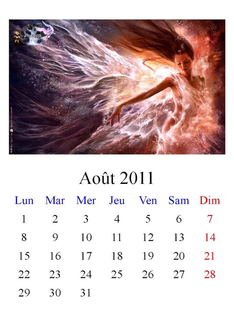 Calendrier Equinox 2011 Aout11