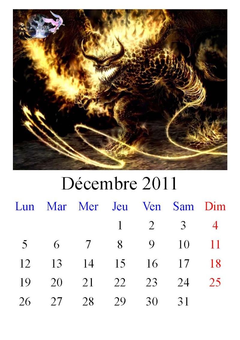 Calendrier Equinox 2011 Decemb10