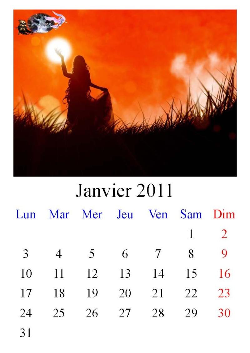 Calendrier Equinox 2011 Janvie10