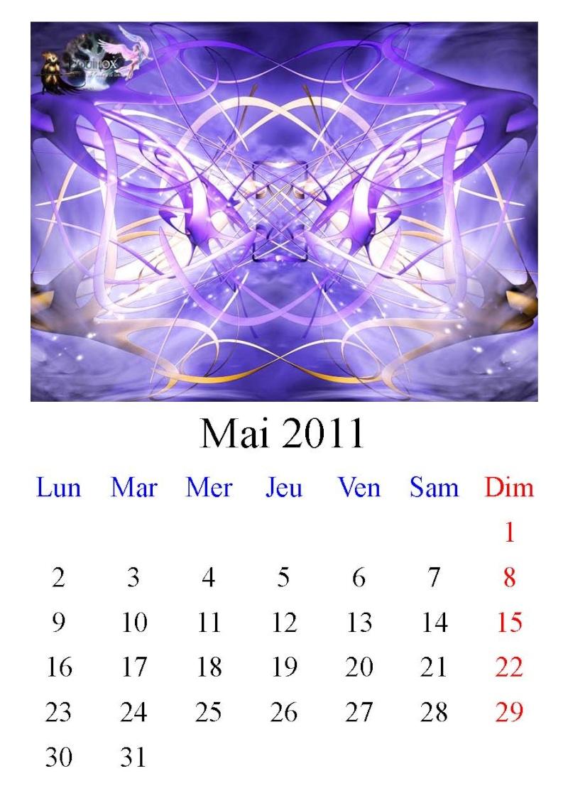 Calendrier Equinox 2011 Mai10