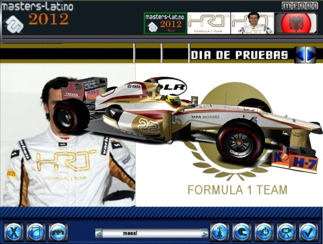 Lotus Y HRT ,actualizacion master latino 2012  F1_lat11