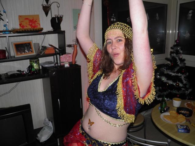 Pour faire marrer la galerie : voici ma tete au nouvel an !! Pc310010
