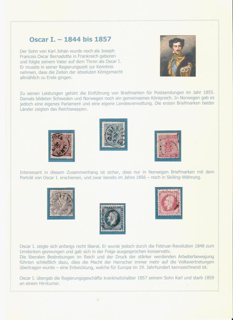 Das schwedische Königshaus im Spiegel der Briefmarke Kynigs11