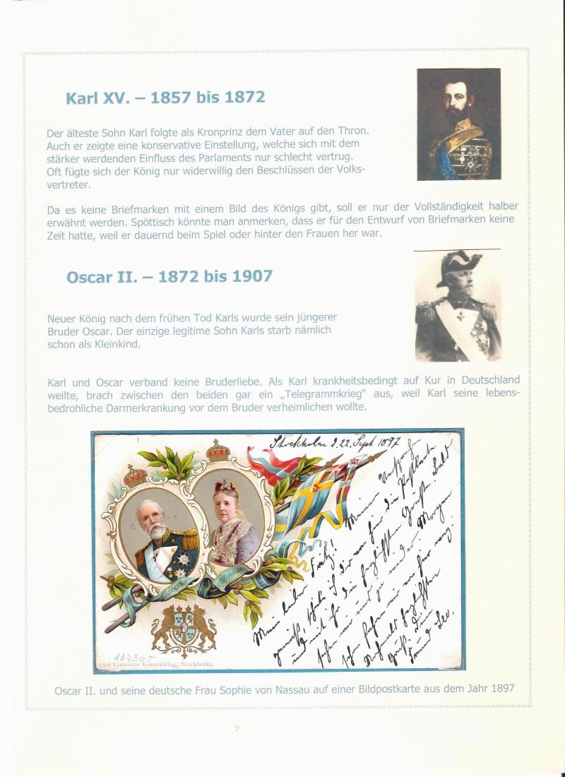 Das schwedische Königshaus im Spiegel der Briefmarke Kynigs12