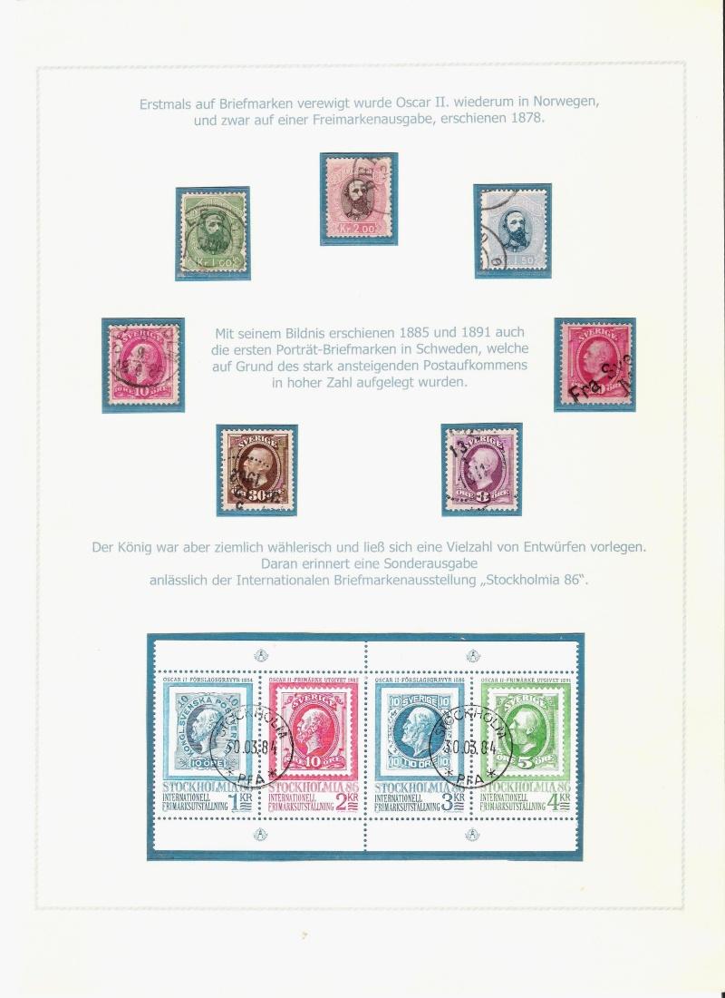 Das schwedische Königshaus im Spiegel der Briefmarke Kynigs13