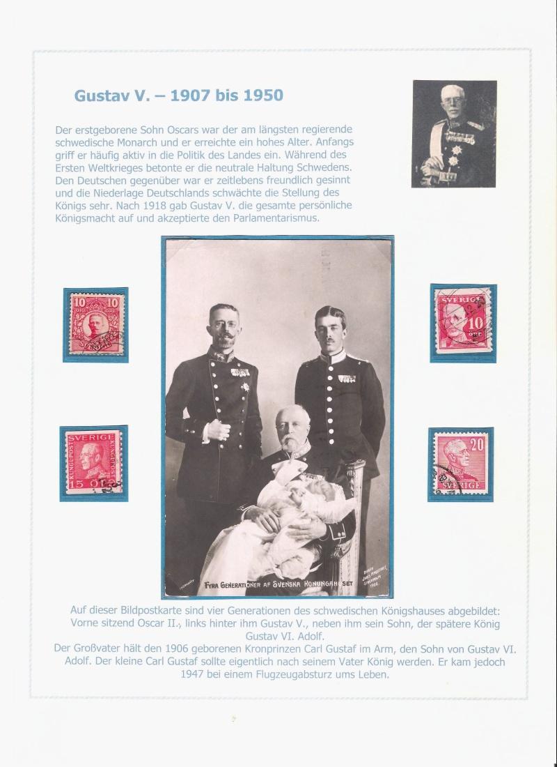 Das schwedische Königshaus im Spiegel der Briefmarke Kynigs14