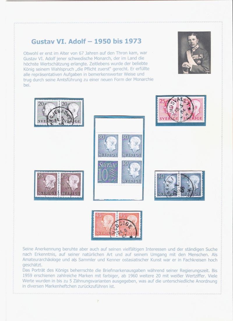 Das schwedische Königshaus im Spiegel der Briefmarke Kynigs16