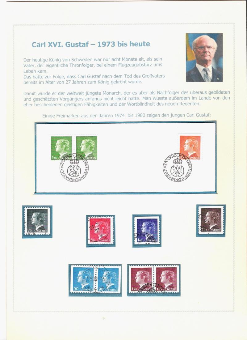 Das schwedische Königshaus im Spiegel der Briefmarke Kynigs19