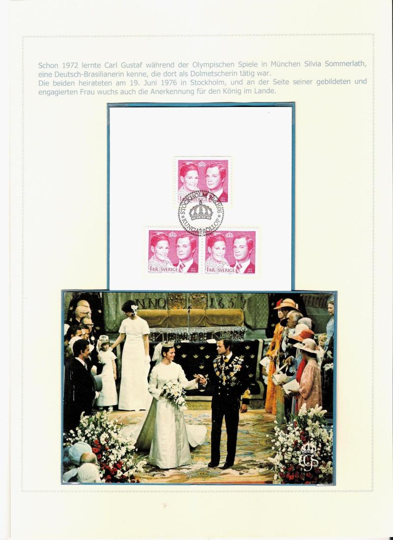 Das schwedische Königshaus im Spiegel der Briefmarke Kynigs20