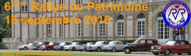 6ème Rallye du Rendez-Vous de la Reine le 18 septembre 2016 Image010