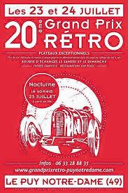 20ème GRAND PRIX RETRO - LE PUY NOTRE DAME - 23 ET 24 JUILLET 2016  Image018