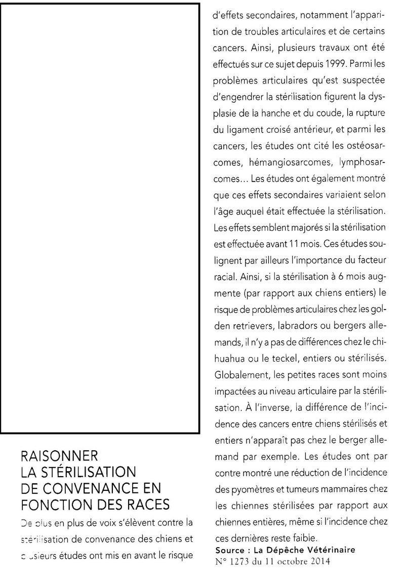 Stérilisation et castration Styril10