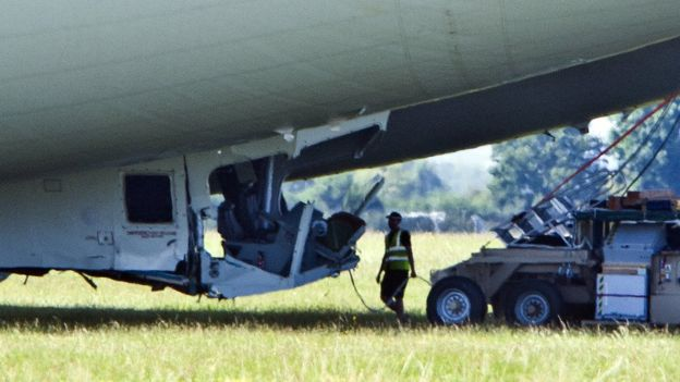 Premier accident pour l'Airlander 10 Accide10