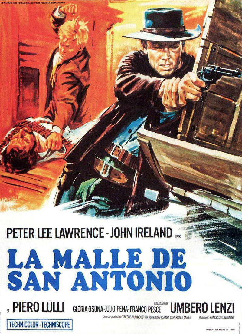 Pistolets pour un massacre - La malle de San Antonio - Una pistola per cento bare  - 1968 - Umberto Lenzi La_mal11