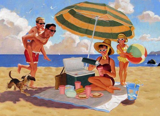 """Illustrations ... pour l'été ... Plage et """"farniente"""" ... - Page 3 0bc18110"""