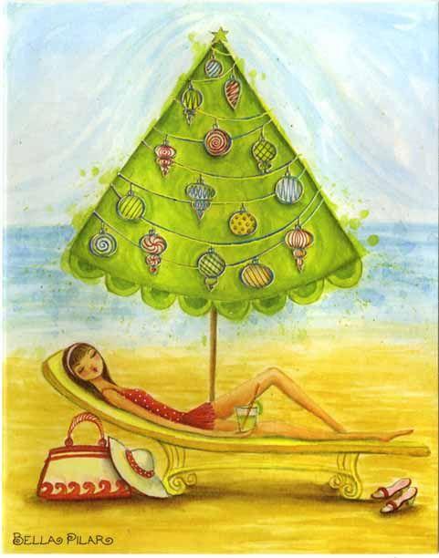"""Illustrations ... pour l'été ... Plage et """"farniente"""" ... - Page 2 596e3810"""