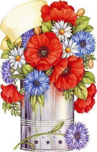 Les FLEURS  dans  L'ART - Page 23 623c0910