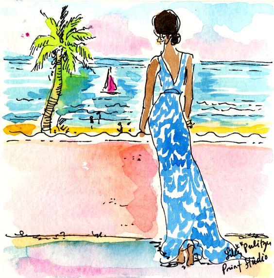 """Illustrations ... pour l'été ... Plage et """"farniente"""" ... 9f3a6010"""