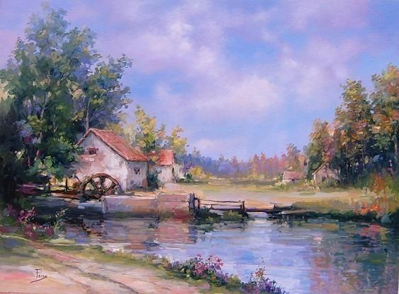 L'eau paisible des ruisseaux et petites rivières  Alex_p10