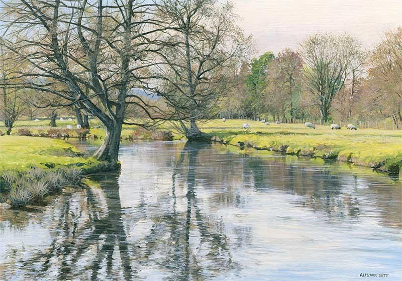 L'eau paisible des ruisseaux et petites rivières  Alista11