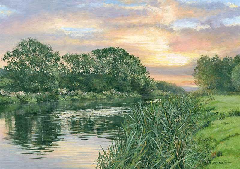 L'eau paisible des ruisseaux et petites rivières  Alista13